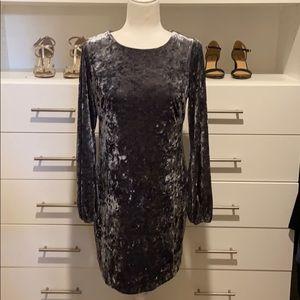 Adrianna Papell Velvet Dress